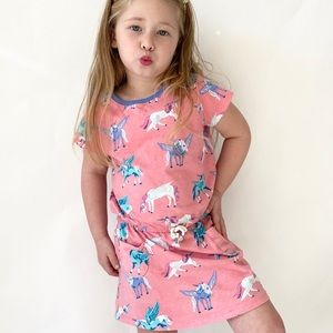 Hatley - Mystical Unicorn Front Pocket Dress